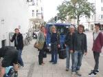 16.9.2010: Das Team am Abreisetag vor der SCHAUBURG