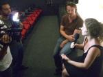 Interview im brasilianischen Fernsehen