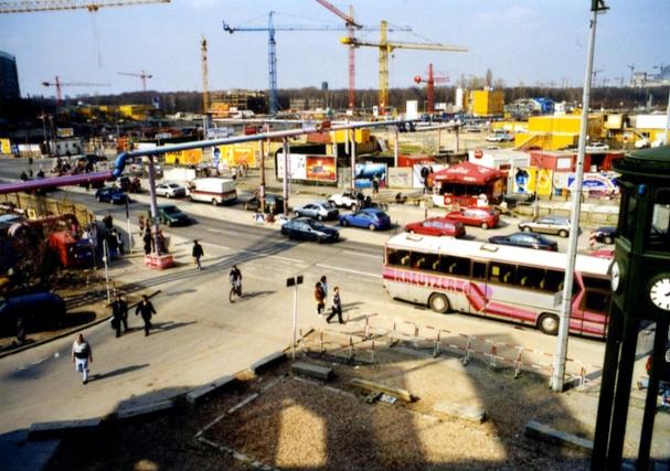Baustelle Berlin, Potsdamer Platz