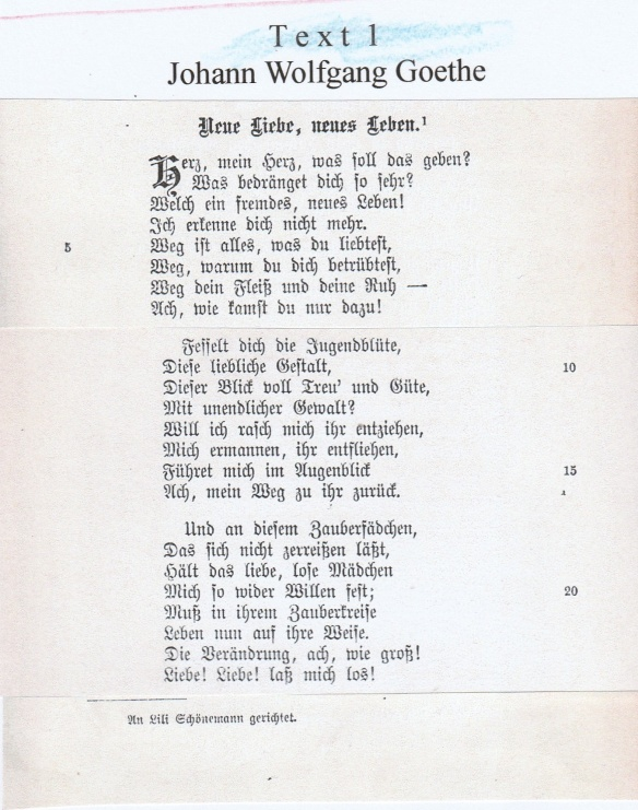 Bayern Abitur Fach Deutsch 9 Mai 2017 Lua Musteraufgabe Lyrik