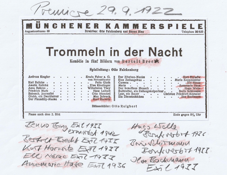MK Trommeln in der Nacht 1922 und 1933.jpg